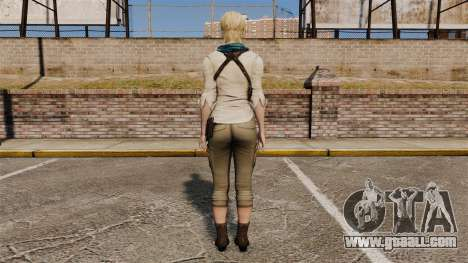 Sherry Birkin for GTA 4 third screenshot