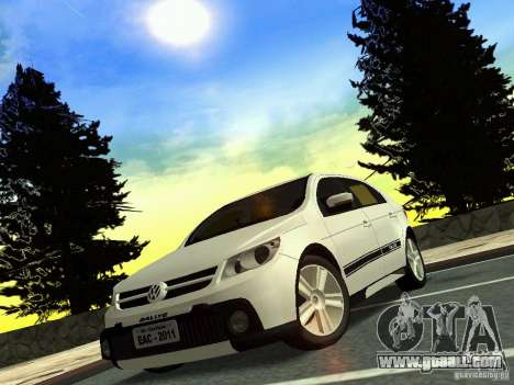 Volkswagen Gol Rallye 2012 for GTA San Andreas