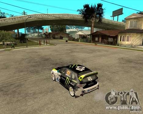 Ken Block Subaru Impreza WRX STi 2009 for GTA San Andreas left view