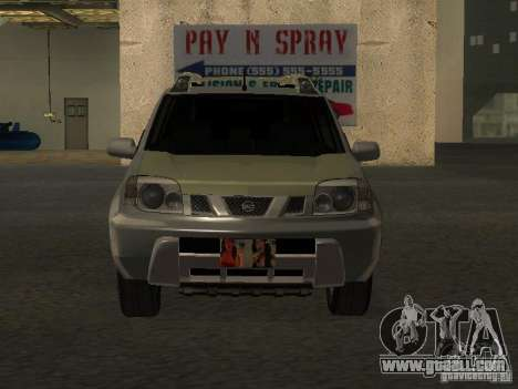 Nissan X-Trail for GTA San Andreas back view
