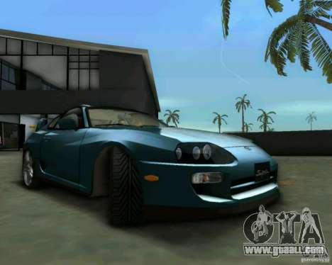 Toyota Supra for GTA Vice City right view