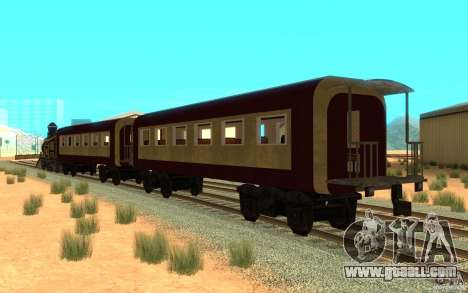 Locomotive for GTA San Andreas back left view