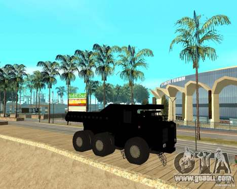 Dumper for GTA San Andreas right view
