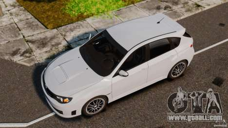 Subaru Impreza Cosworth STI CS400 2010 v1.2 for GTA 4 right view