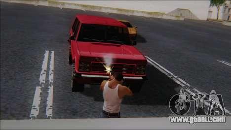 SCAR - H for GTA San Andreas forth screenshot