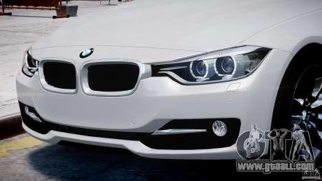 BMW 335i E30 2012 Sport Line v1.0 for GTA 4 engine