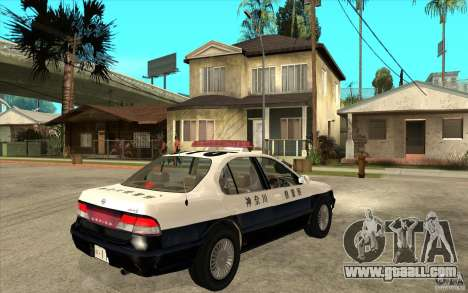 Nissan Cefiro A32 Kouki Japanese PoliceCar for GTA San Andreas side view