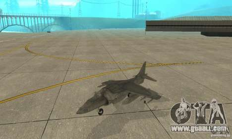 AV-8 Harrier for GTA San Andreas