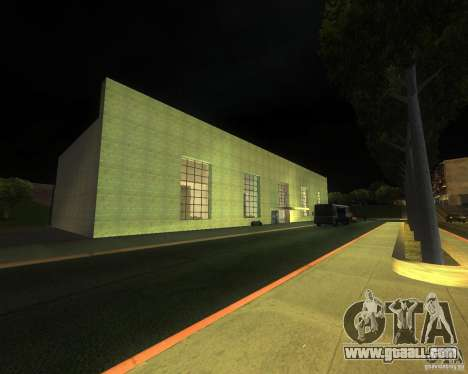 A bustling train station in San Fierro for GTA San Andreas