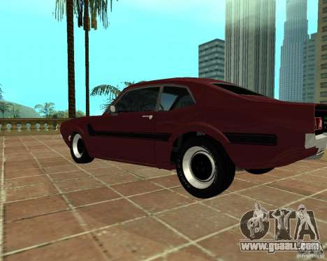 Ford Maverick GT 1977 for GTA San Andreas left view