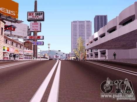 New Roads for GTA San Andreas second screenshot