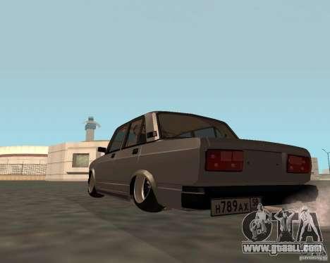 VAZ 2107 JDM for GTA San Andreas left view