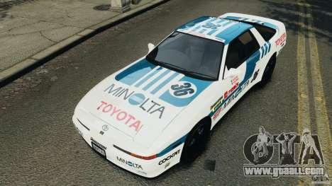 Toyota Supra 3.0 Turbo MK3 1992 v1.0 [EPM] for GTA 4 wheels