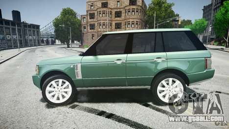 Range Rover Supercharged v1.0 for GTA 4 upper view
