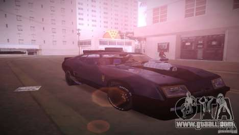 Ford Falcon GT Pursuit Special V8 Interceptor 79 for GTA Vice City back view