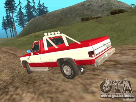 Chevrolet Silverado 2500 for GTA San Andreas right view