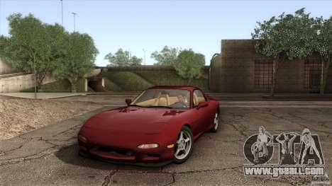 Mazda RX-7 FD 1991 for GTA San Andreas side view