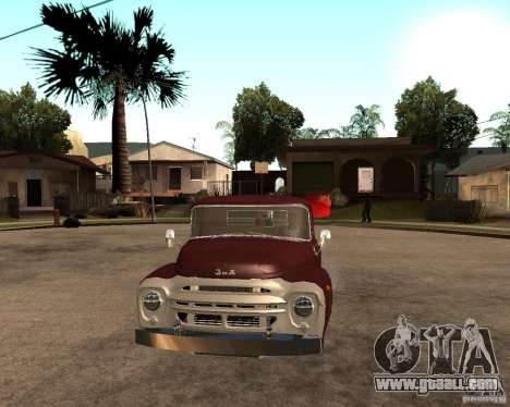 ZIL 130 Fiery Tempe Final for GTA San Andreas right view