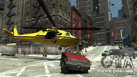 Yellow Annihilator for GTA 4 upper view
