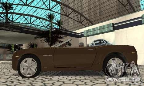 Chevrolet Camaro Concept 2007 for GTA San Andreas