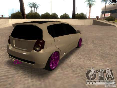 Chevrolet Aveo Tuning for GTA San Andreas left view