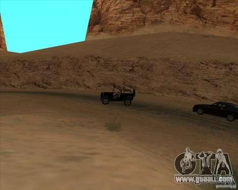 Cowboy duel for GTA San Andreas second screenshot