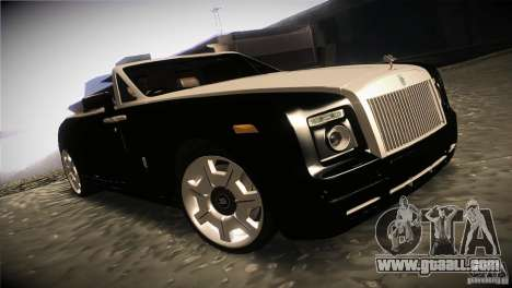 Rolls Royce Phantom Drophead Coupe 2007 V1.0 for GTA San Andreas back view