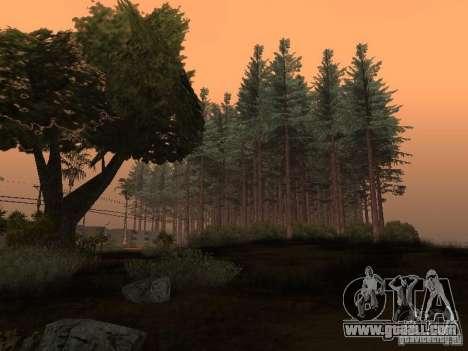 Forest in Las Venturas for GTA San Andreas