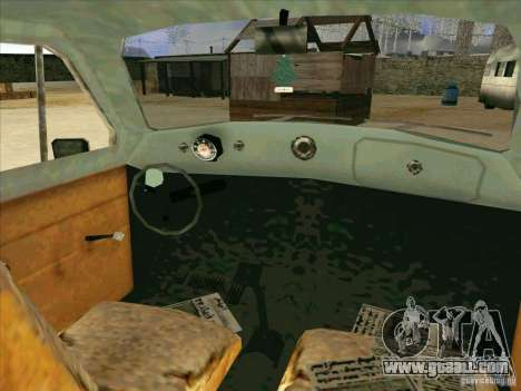 Car from COD 4 MW for GTA San Andreas side view