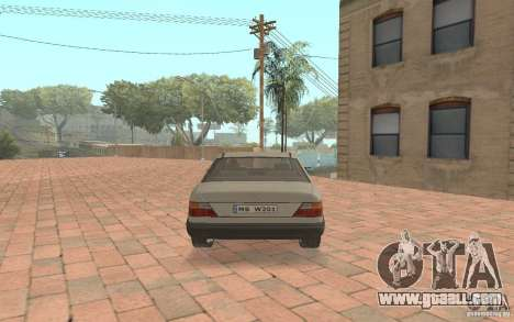 Mercedes-Benz E200 W124 for GTA San Andreas right view