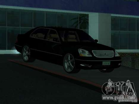 Lexus LS 430 for GTA San Andreas right view