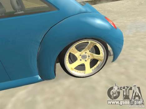 VW Beetle 2004 for GTA San Andreas back left view