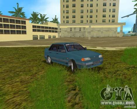 Lada 2115 for GTA Vice City back left view