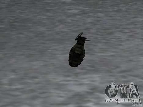 Pak domestic weapons version 4 for GTA San Andreas ninth screenshot