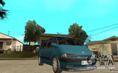 Renault Espace III 1999 for GTA San Andreas back view