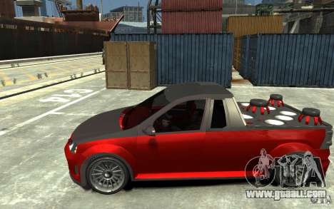 Dacia Pick-up Tuning for GTA 4 left view