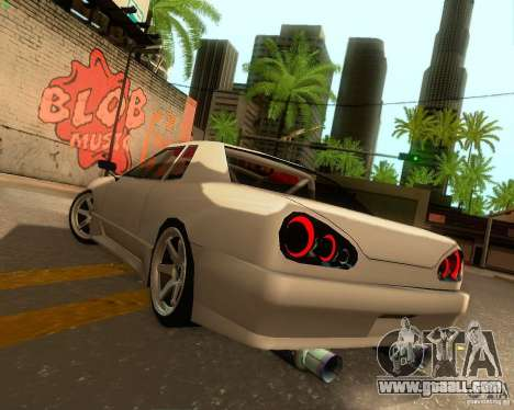 Elegy Drift Korch for GTA San Andreas upper view