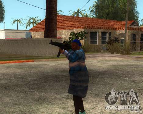 Gangsta Granny for GTA San Andreas