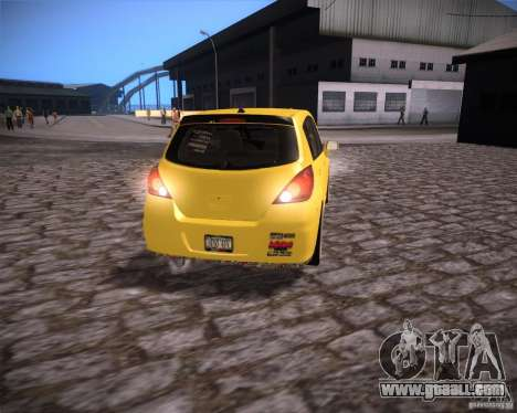 Nissan Versa Tuned for GTA San Andreas right view