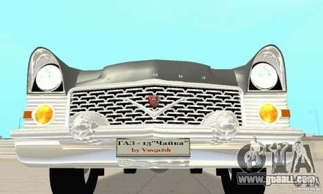 GAZ 13 Chaika v2.0 for GTA San Andreas upper view