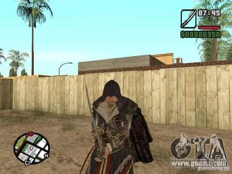 Sword Ezio for GTA San Andreas fifth screenshot