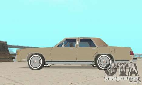 Mercury Grand Marquis LS 1986 for GTA San Andreas right view