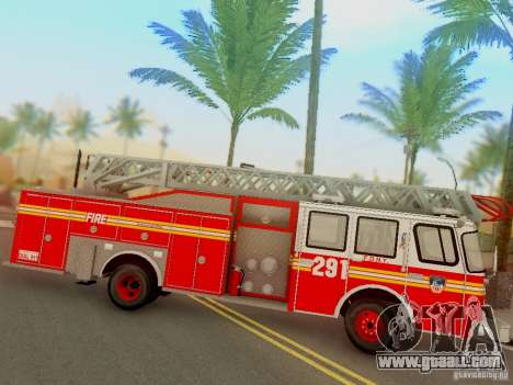 E-One FDNY Ladder 291 for GTA San Andreas
