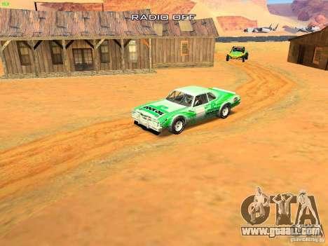 Jupiter Eagleray MK5 for GTA San Andreas interior