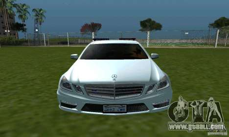 Mercedes-Benz E63 DPS for GTA San Andreas inner view