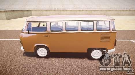 Volkswagen Kombi Bus for GTA 4 back view