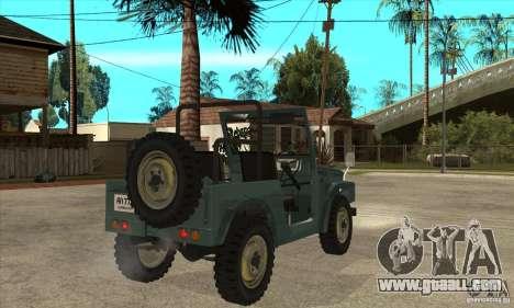 Suzuki Jimny for GTA San Andreas right view