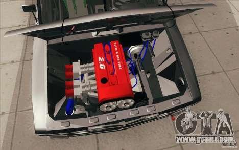 Vaz 2106 Lada Drift Tuned for GTA San Andreas interior