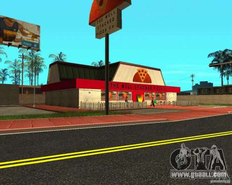 Buying pizza for GTA San Andreas second screenshot