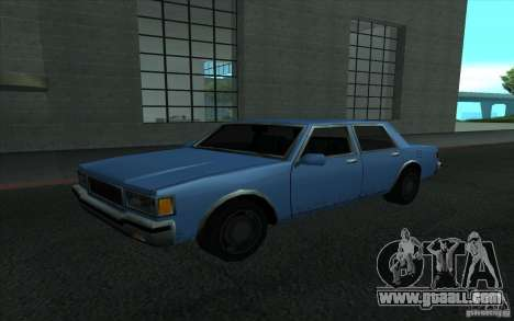 Civilian Police Car LV for GTA San Andreas
